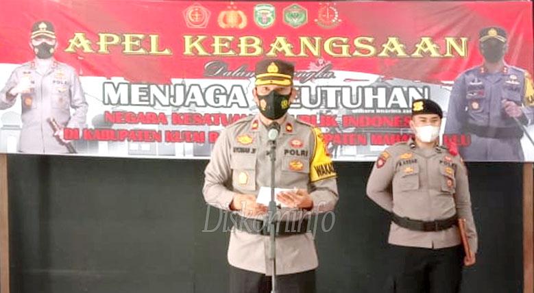 Bersatu Menuju Indonesia Maju, Gelar Apel Kebangsaan