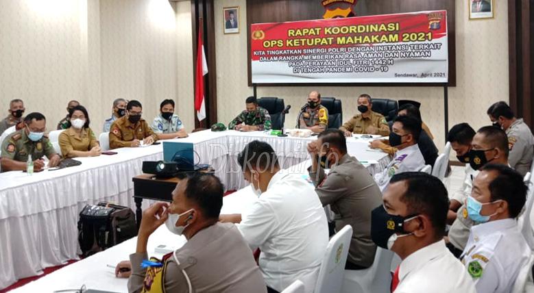 Rapat Persiapan Operasi Ketupat Mahakam 2021